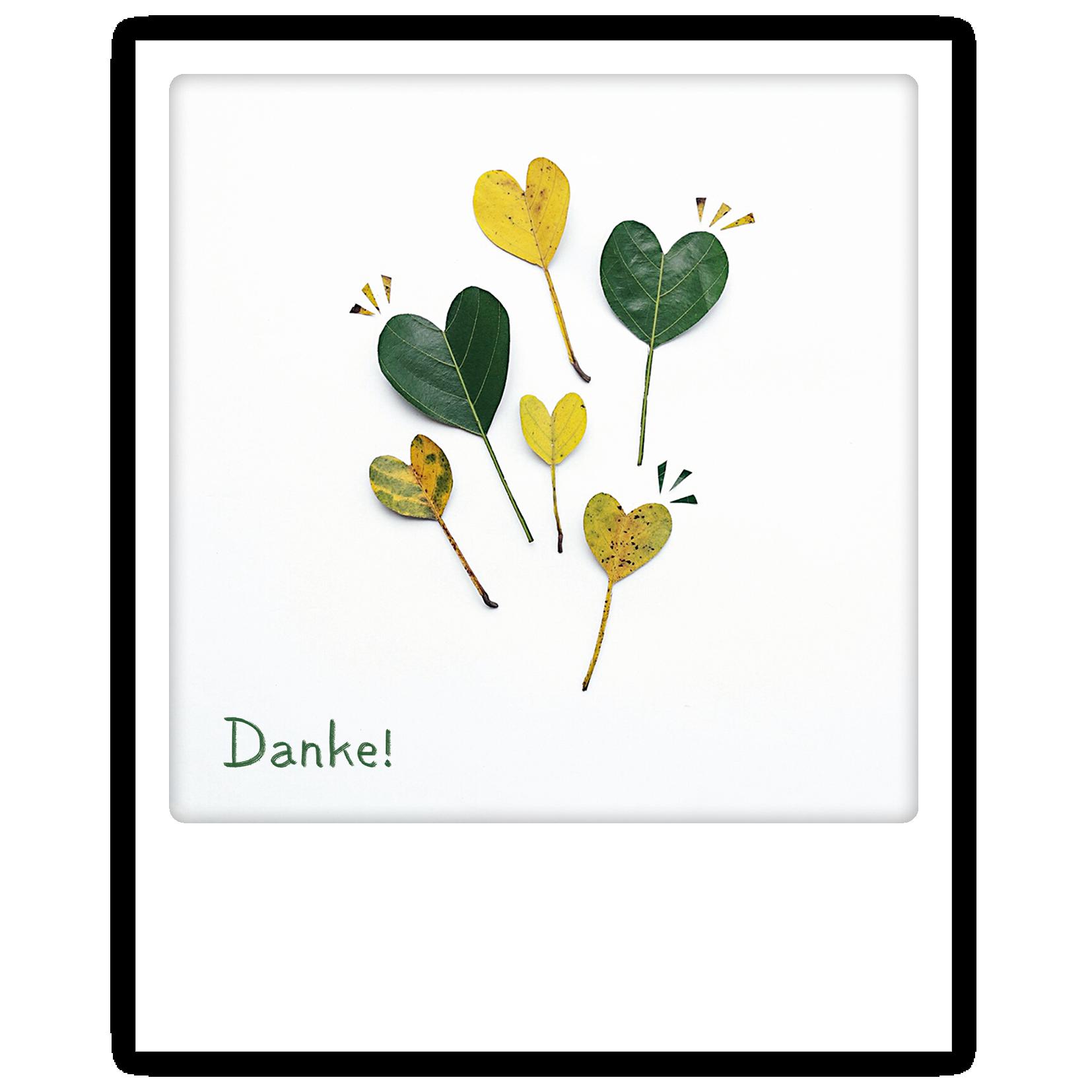 "Photo-Postkarte ""Danke"" - ZG 0840 - DE - Pickmotion"