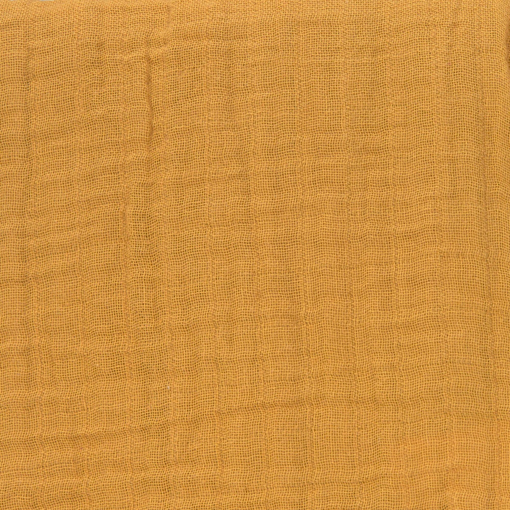 Stillschal Musselin - Mustard - Lässig