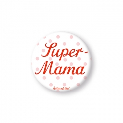 Button - Super-Mama - krima&isa