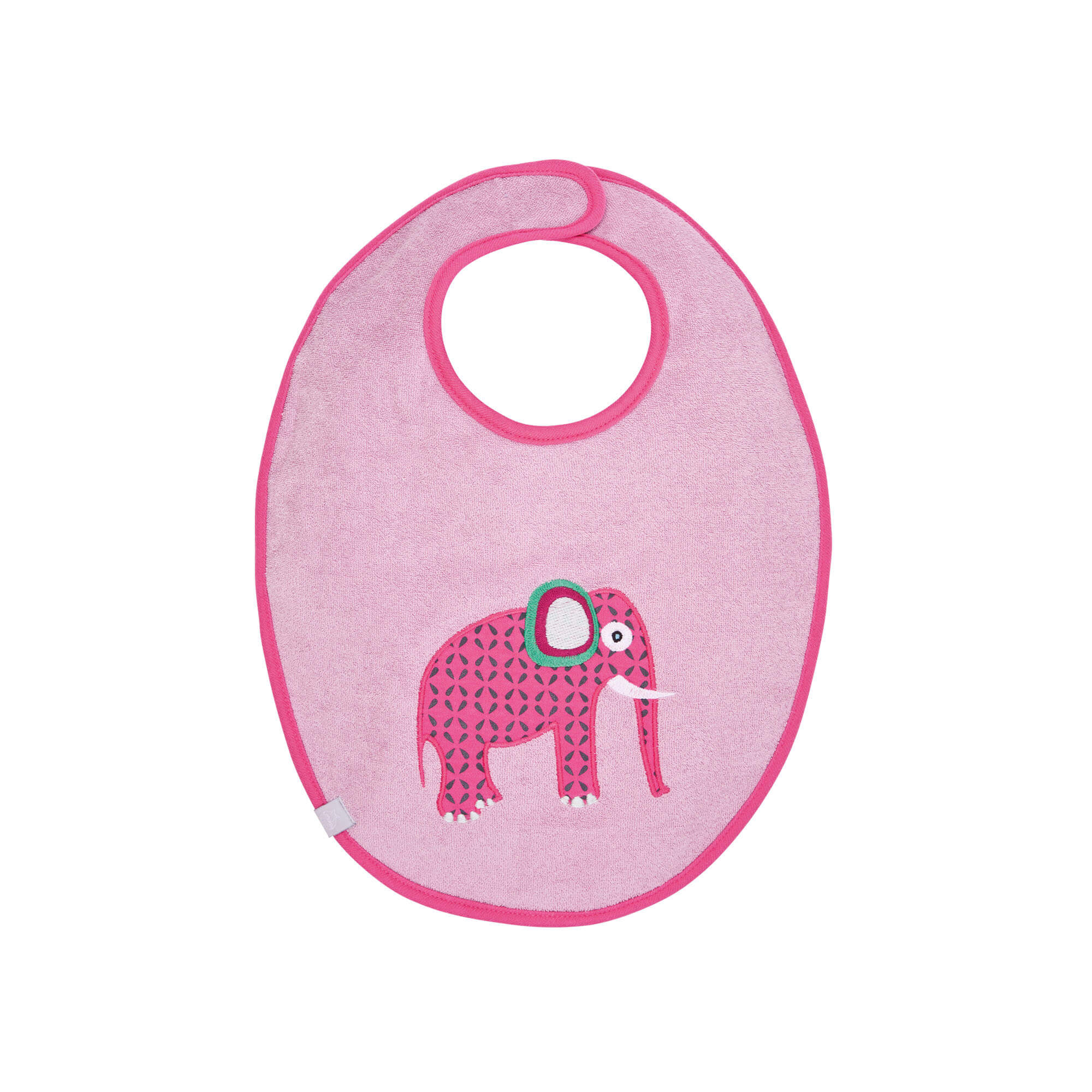 Lätzchen - Bib Waterproof Medium- Wildlife Elephant - Lässig