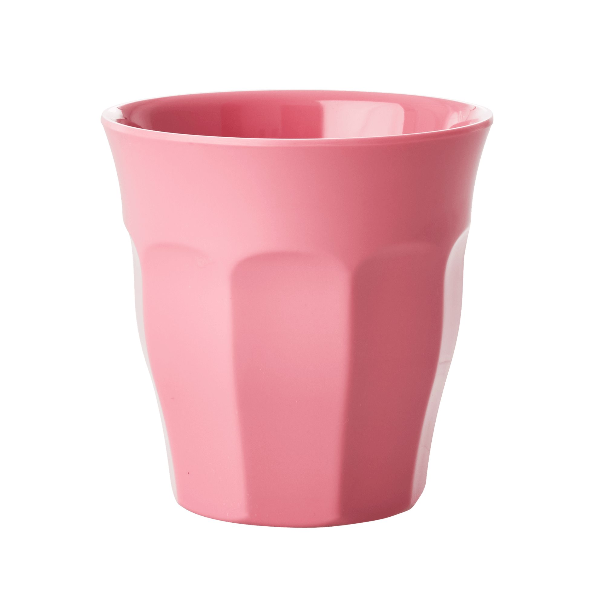 Medium Melamine Cup - Uni rosa - rice