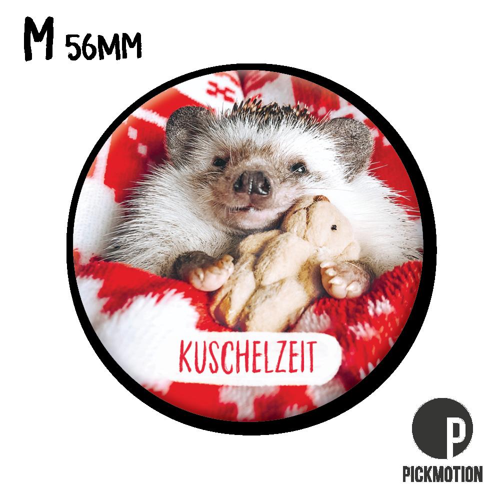 "Kühlschrank-Magnet - Medium - ""Kuschelzeit"" - MM 0827-DE - Pickmotion (Xmas)"
