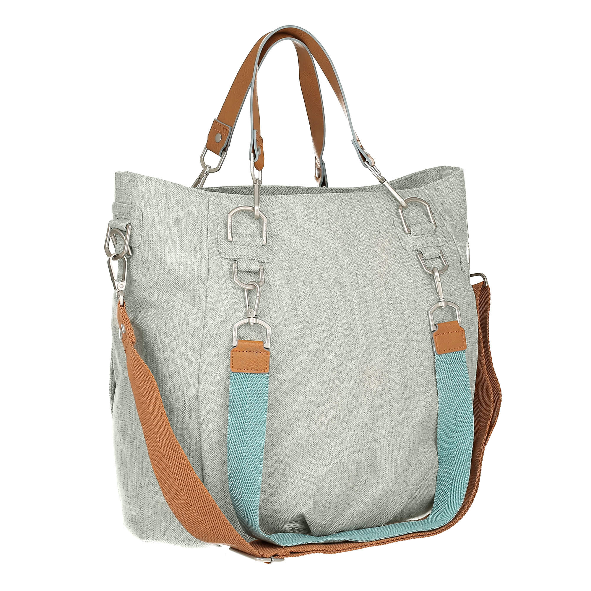 Wickeltasche Green Label Mix 'n Match - Light Grey - Lässig
