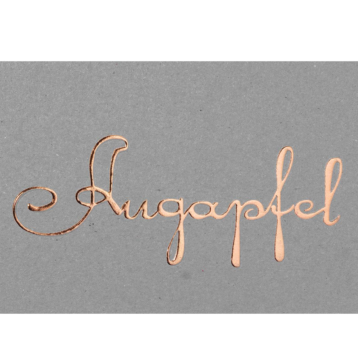 "Postkarte ""Augapfel"" - räder"