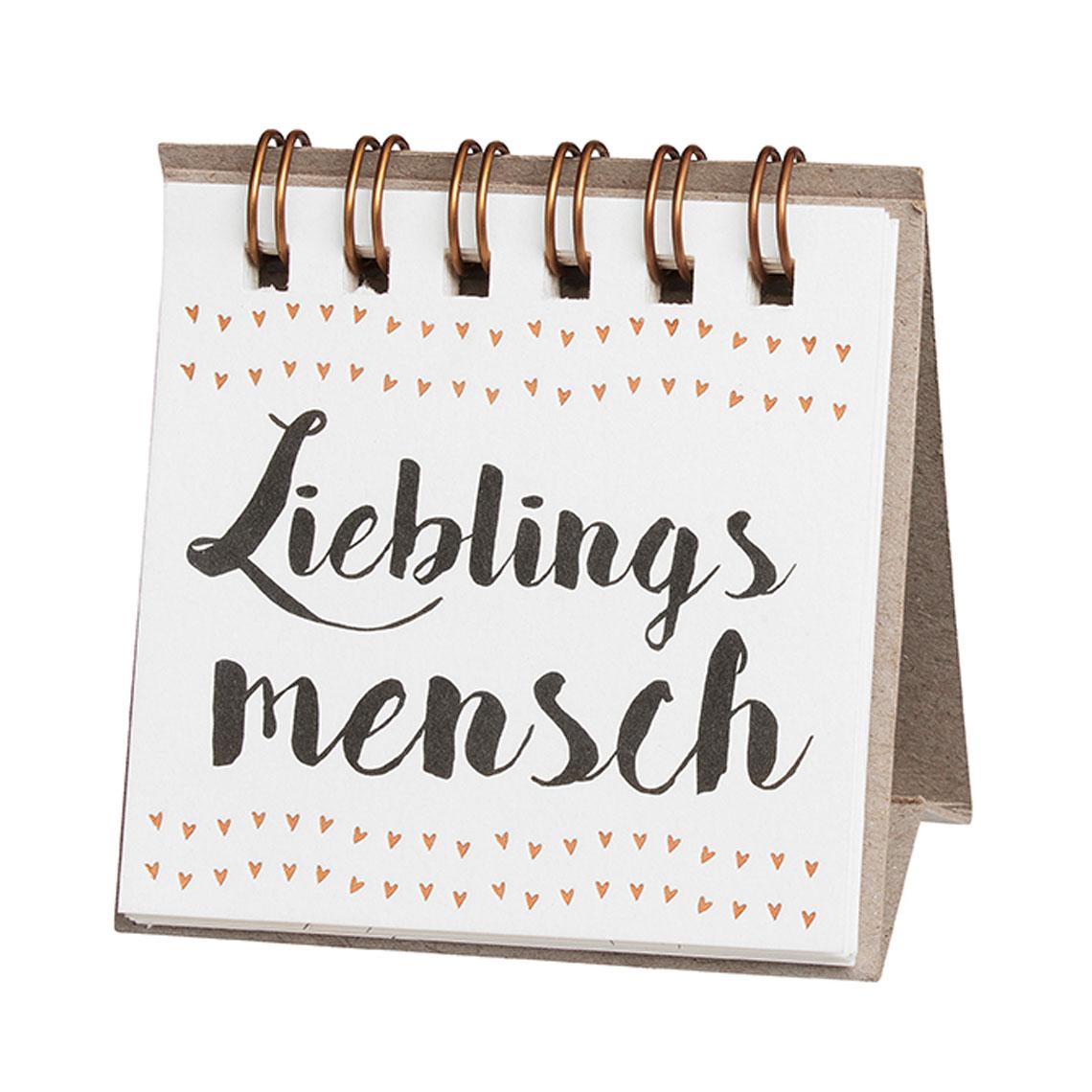"""kleine Botschaften """"Lieblingsmensch"""" - räder"""