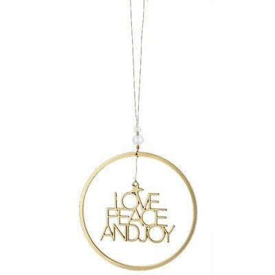 "Weihnachtsgruß ""Love Peace Joy"" - räder (Xmas)"