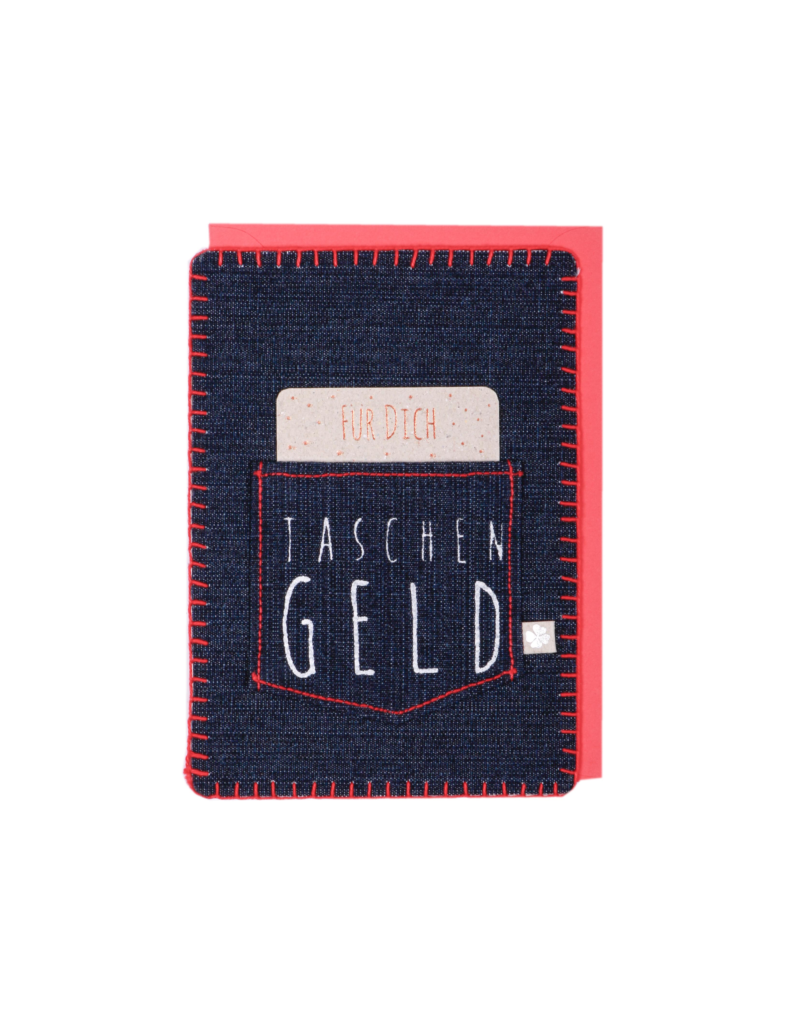 Geschenkkarte - Taschengeld - Good old friends
