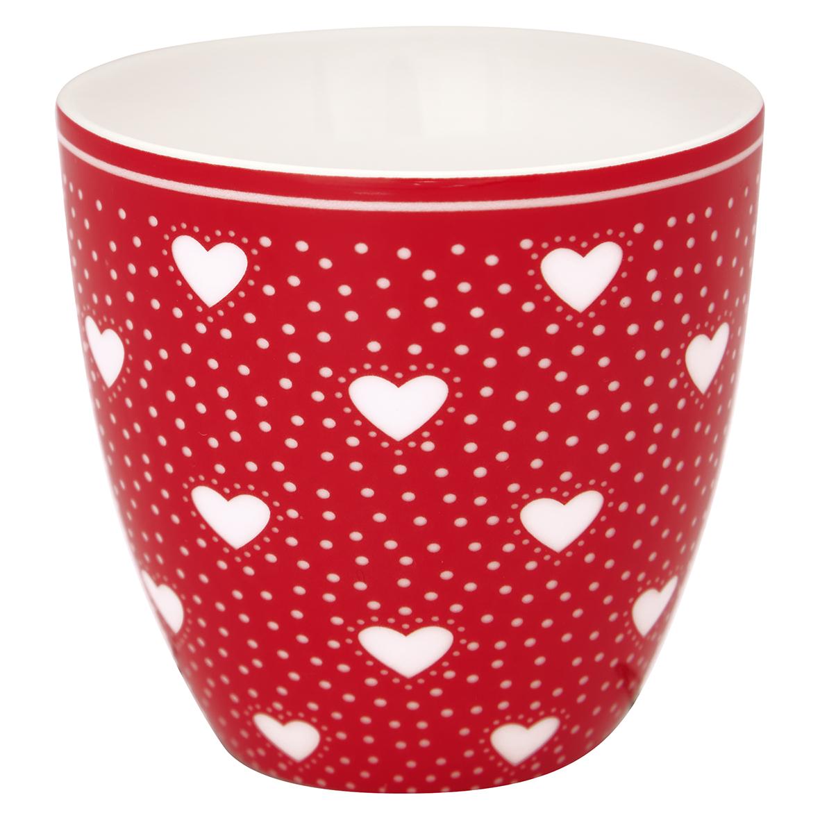 Espressotasse | Mini-Latte Cup - Penny red - Greengate