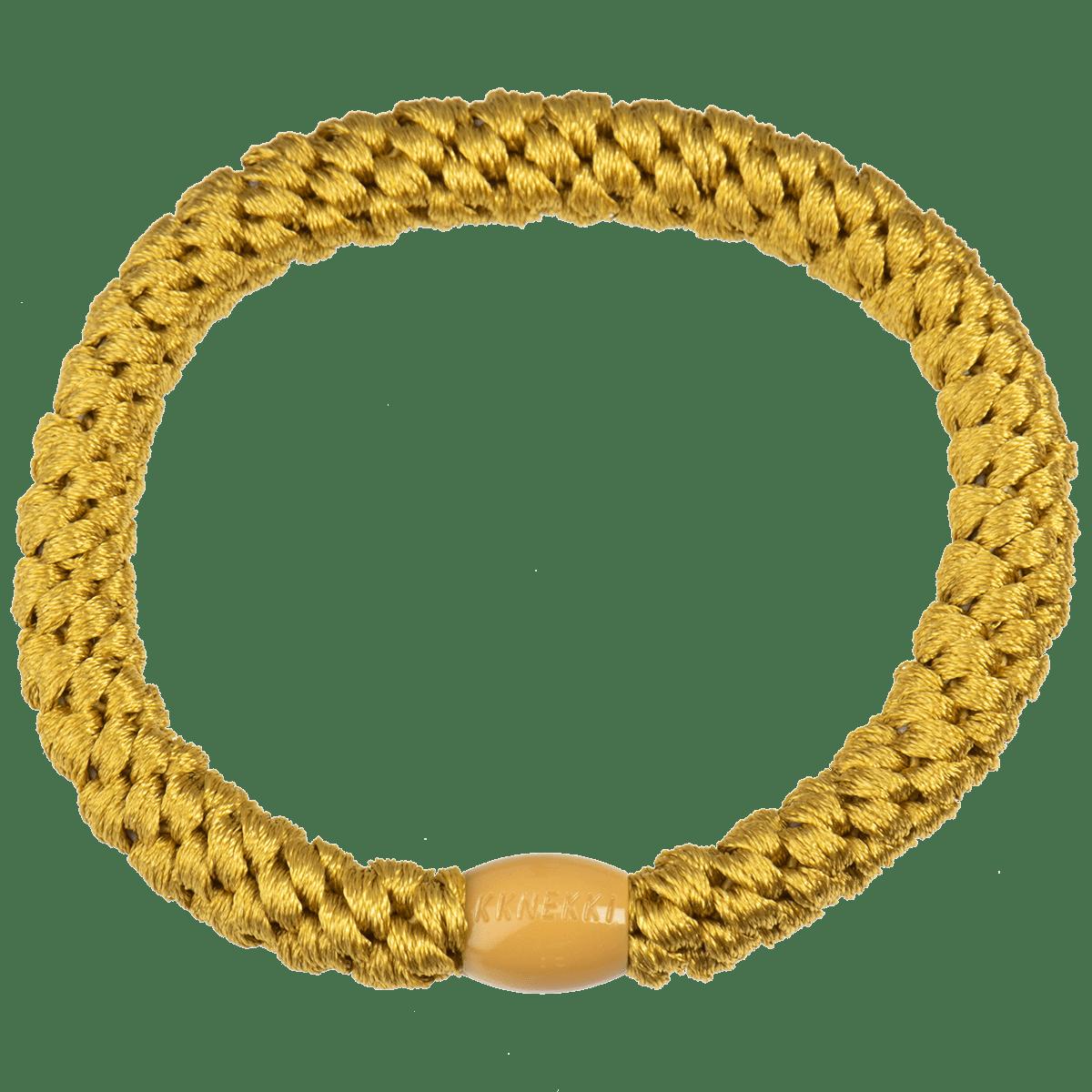 Haargummi / Armband - Green gold 5104 - KKNEKKI