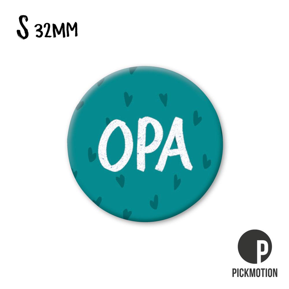 "Kühlschrank-Magnet - Klein - ""Opa"" - MSQ 0279-DE - Pickmotion"