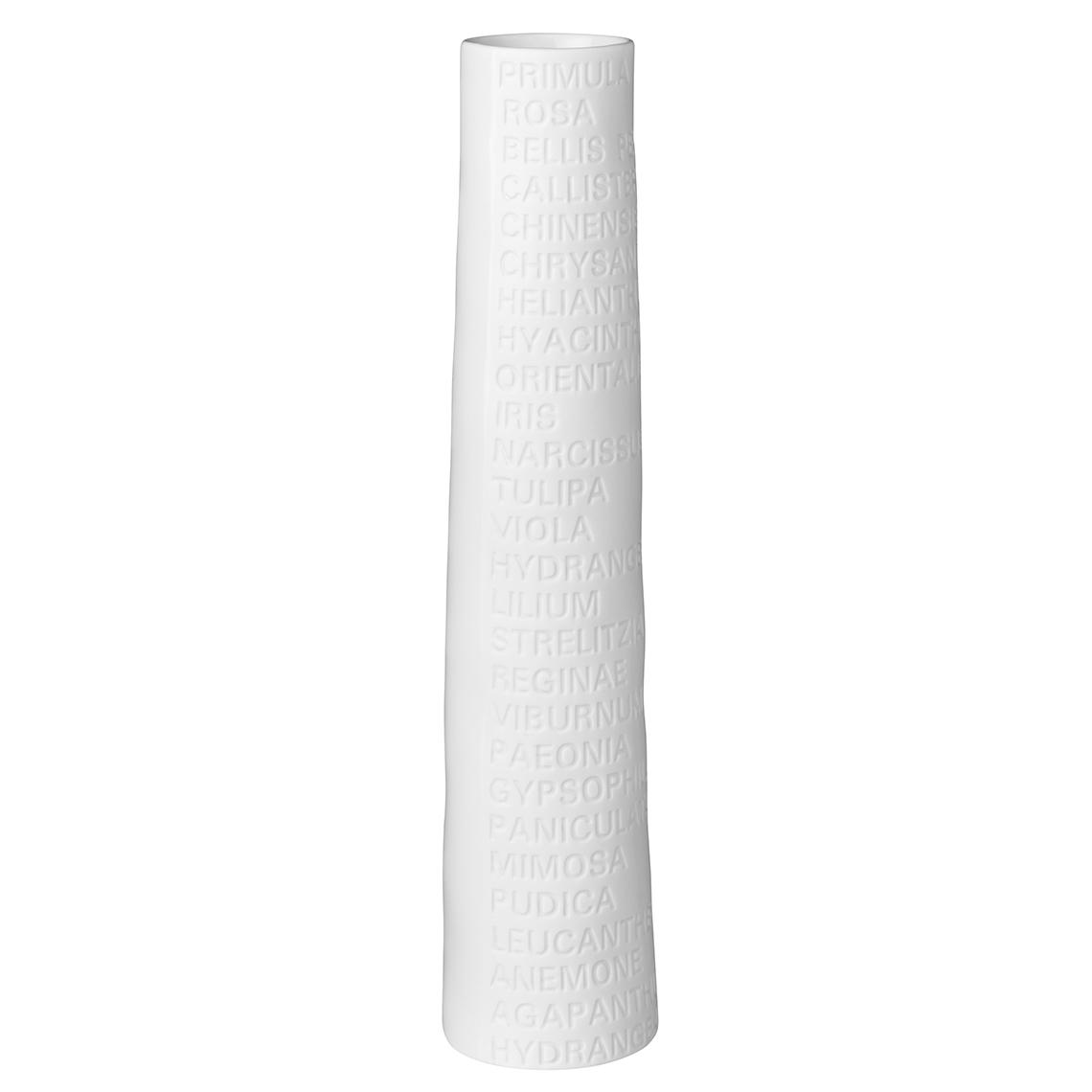 Schmale Vase (groß) - räder