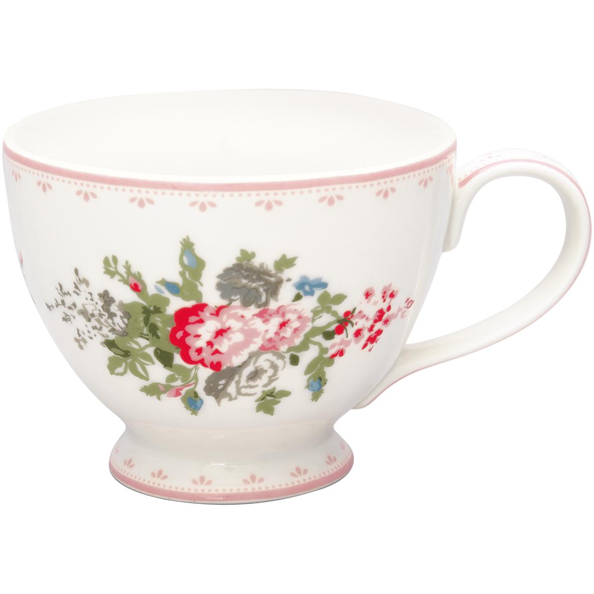 Teetasse mit Henkel - Petricia pale pink - Greengate