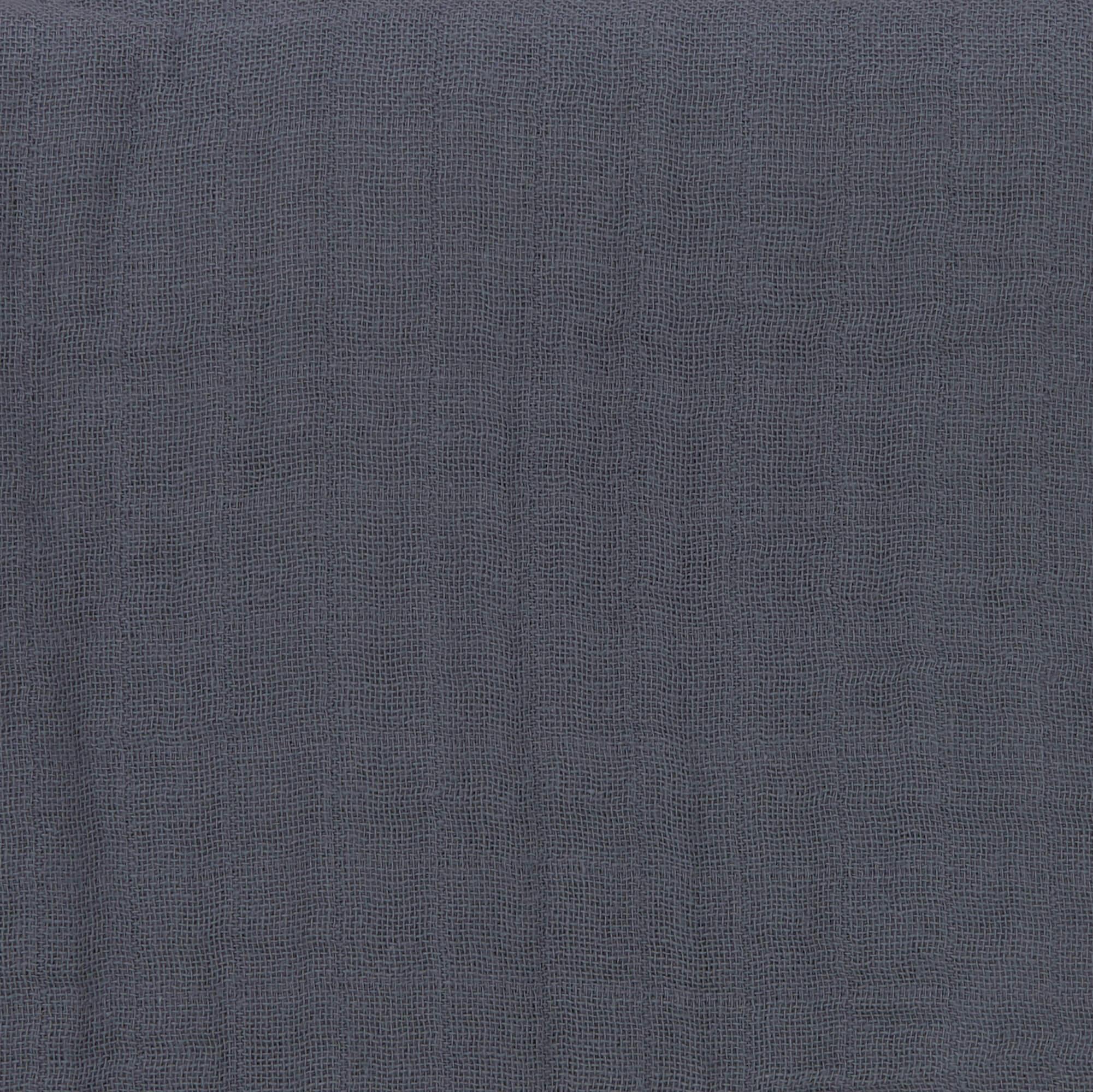 Stillschal Musselin - Navy - Lässig
