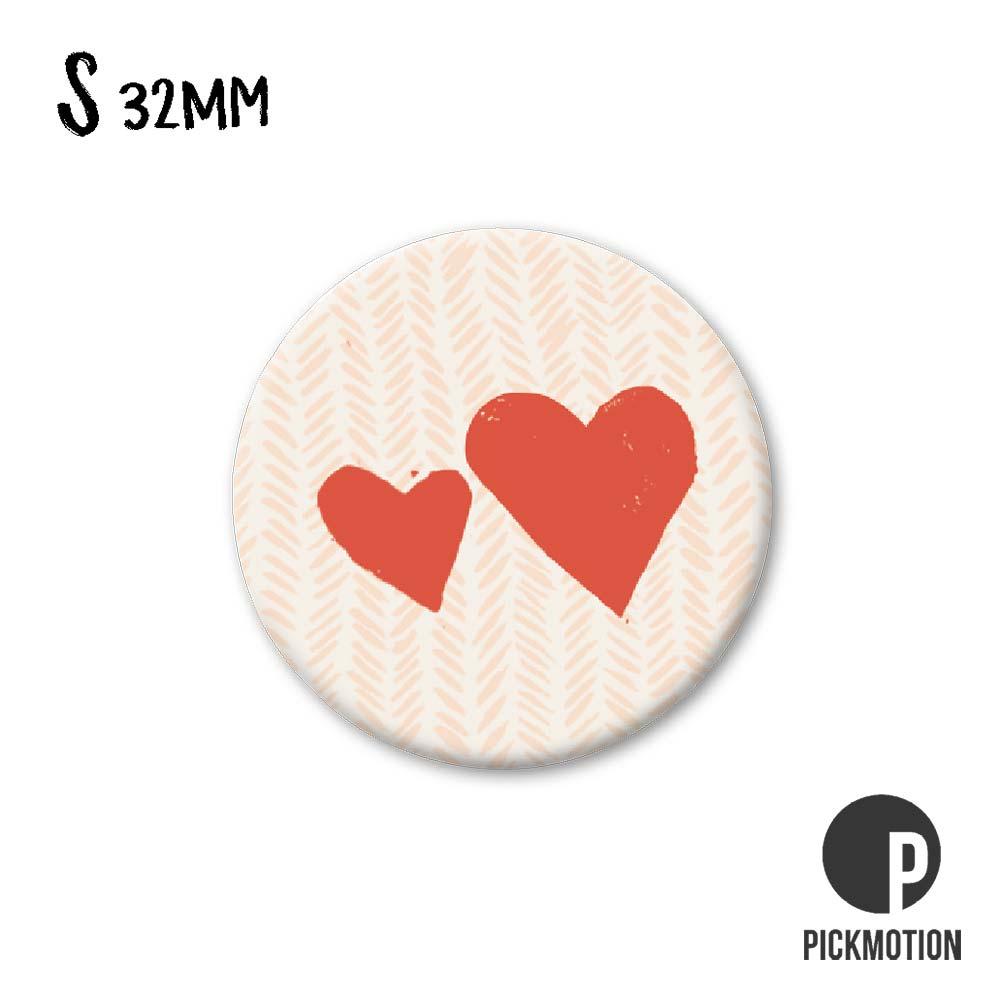 """Kühlschrank-Magnet - Klein - """"Herzen"""" - MSA 0281 - Pickmotion"""