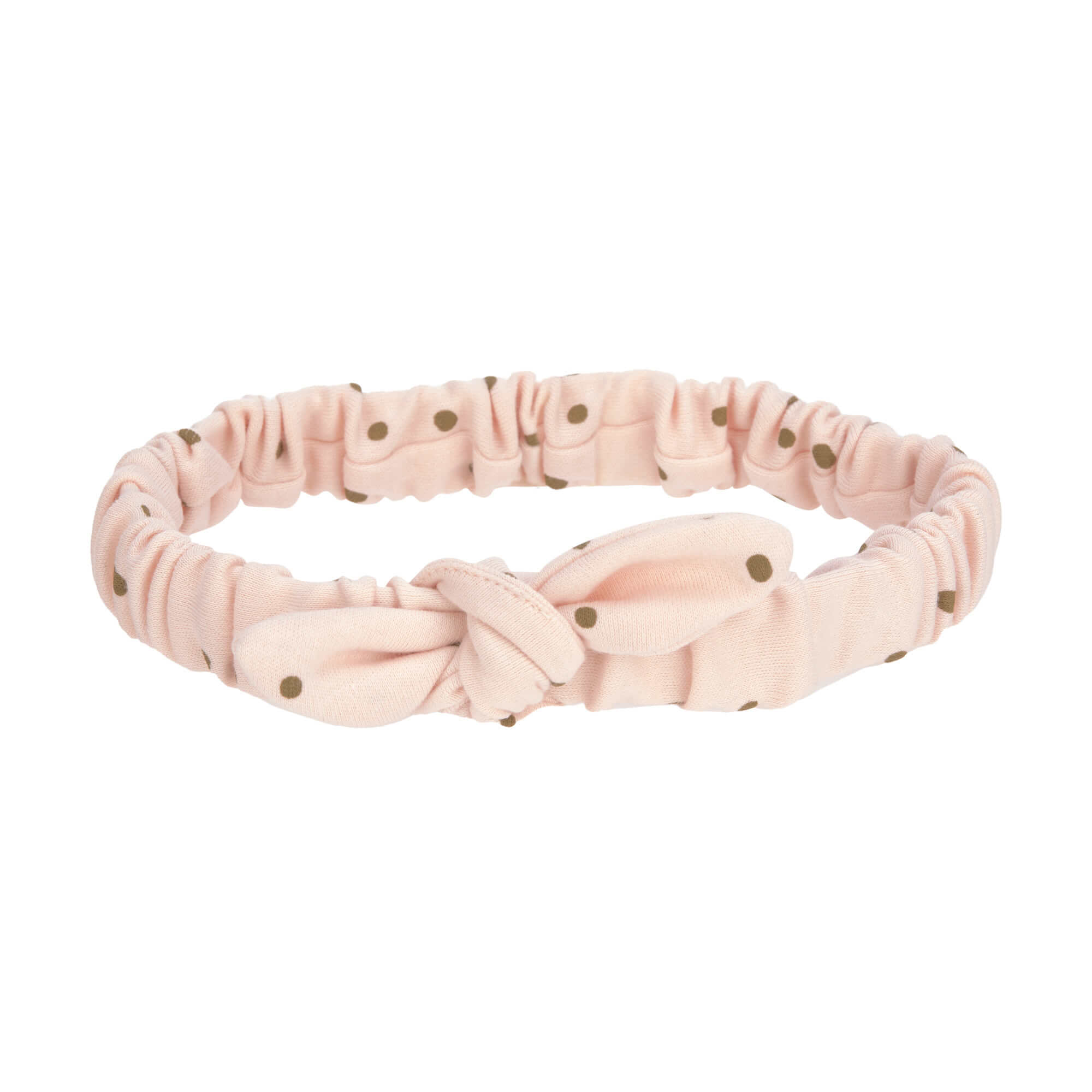 Baby Stirnband - Dots Powder Pink - 12 bis 36 Monate - Lässig