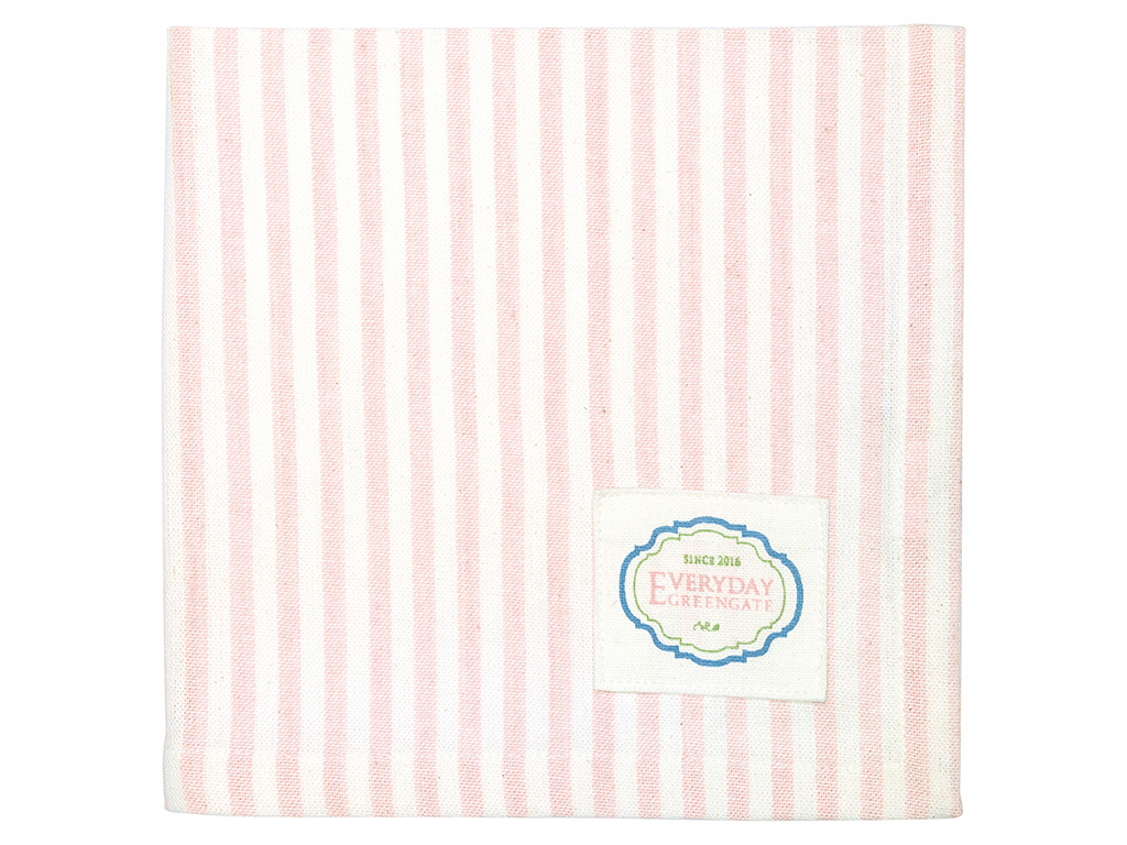 Stoffserviette - Alice stripe pale pink - Greengate