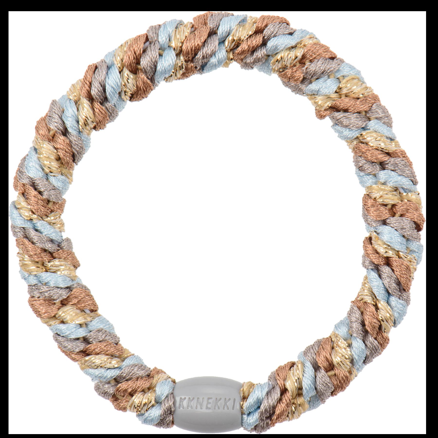 Haargummi / Armband - Nougat Baby Blue Mix 53644 - KKNEKKI