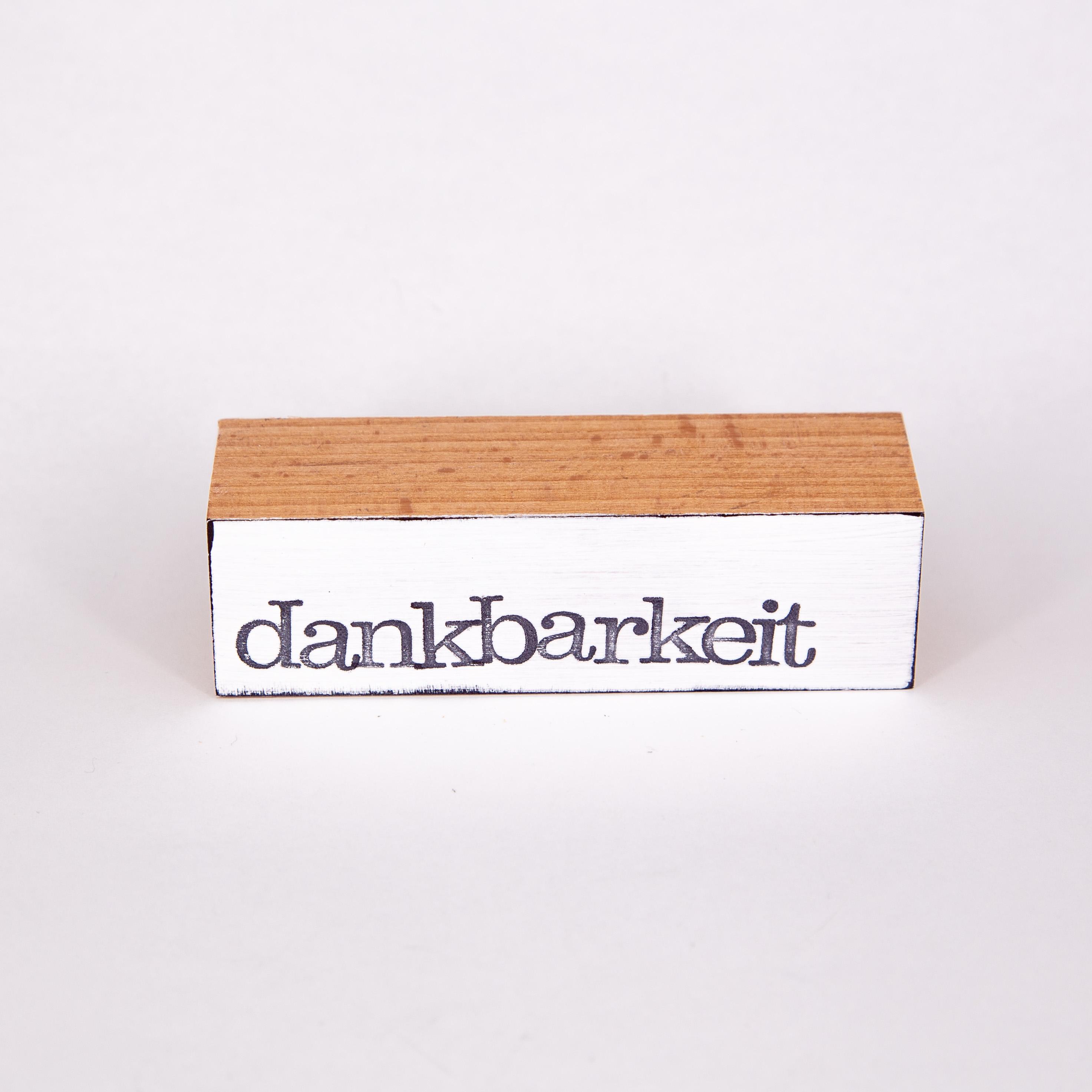 """Baustein - dankbarkeit"""" - iopla"""