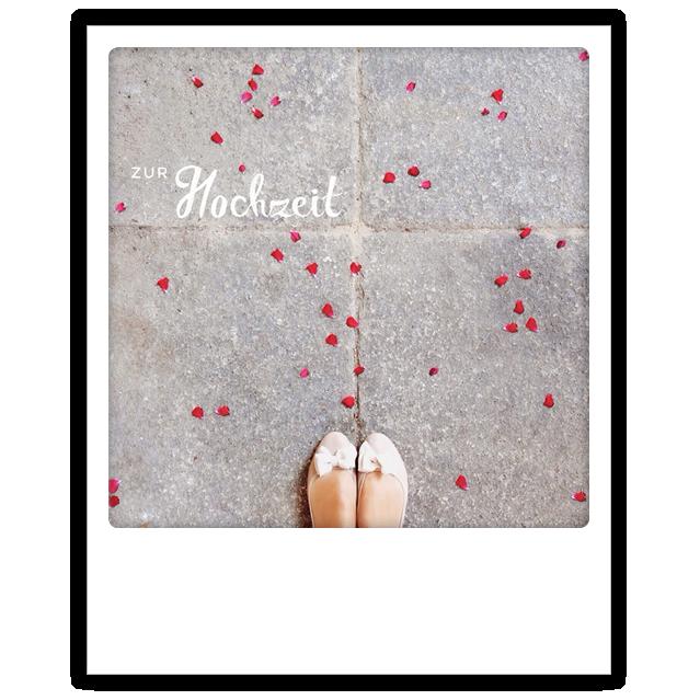 "Photo-Postkarte ""Zur Hochzeit"" - ZG 0168 - DE- Pickmotion"