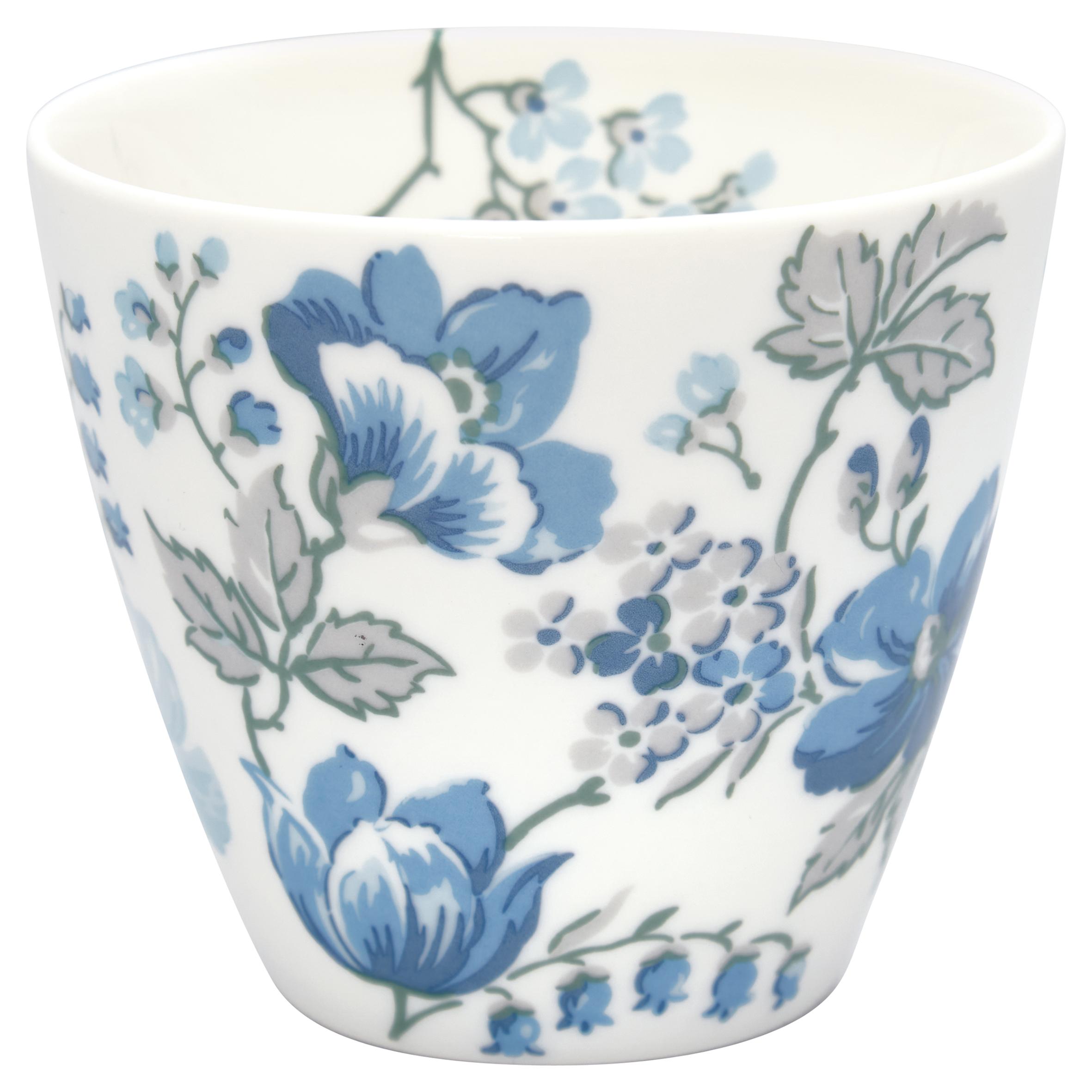Latte Cup - Donna blue - Greengate
