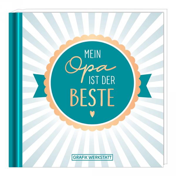Mini-Geschenkbuch - Mein Opa ist der Beste ... - Grafik Werkstatt