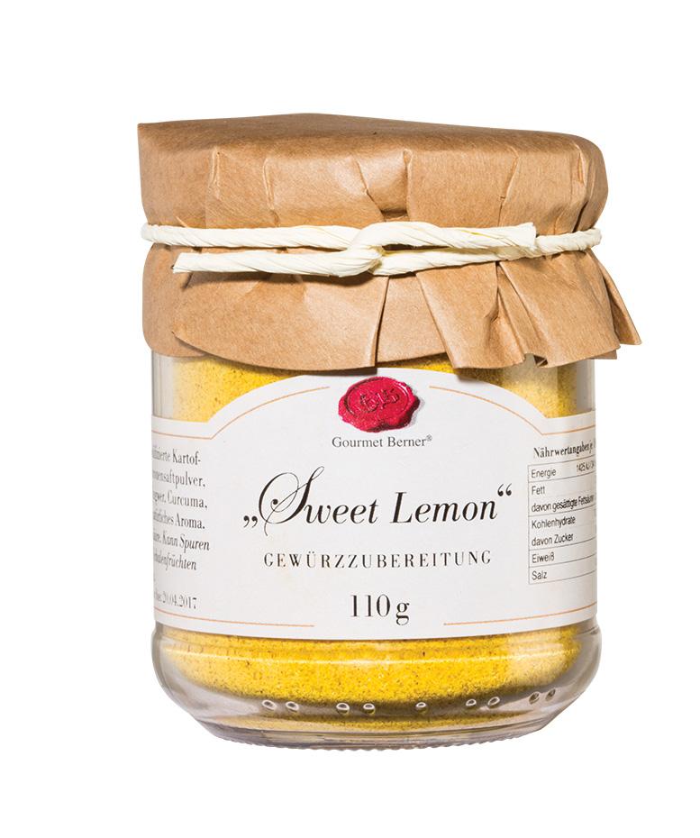 Sweet Lemon Dip - 110g Glas - Gourmet Berner