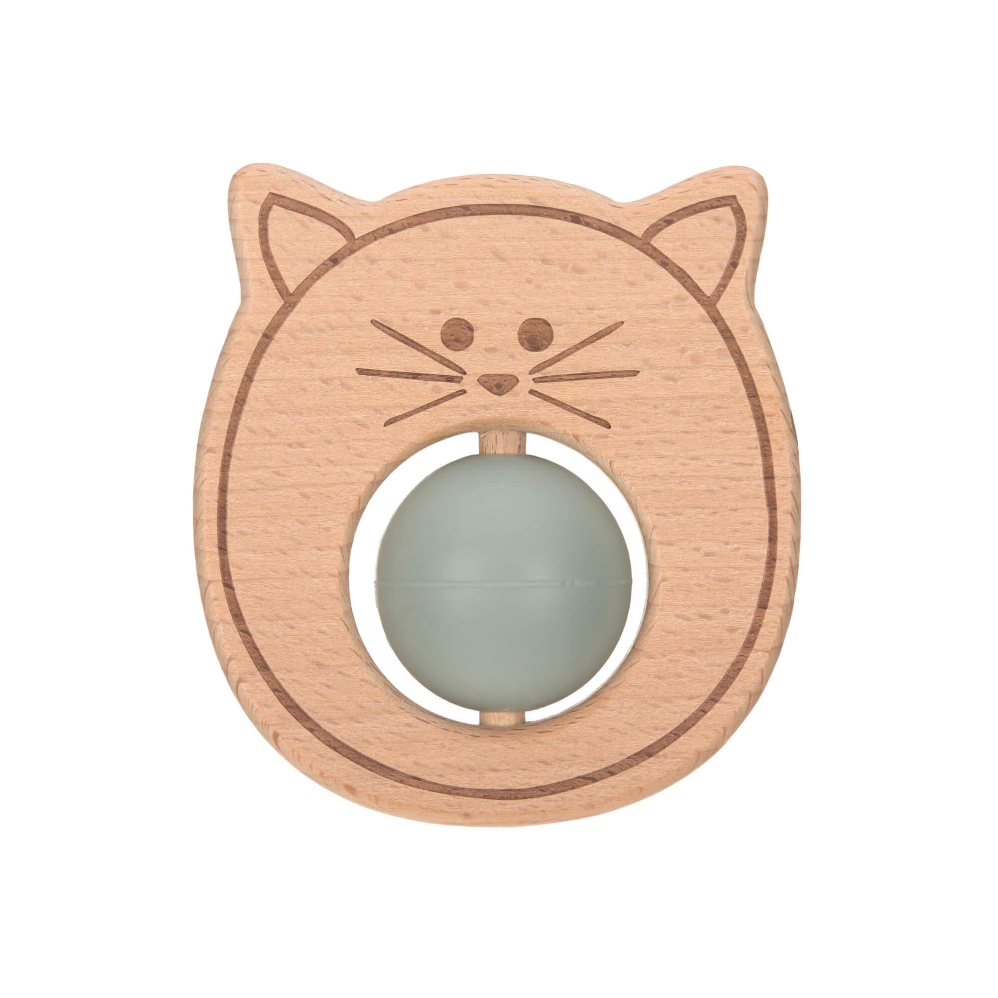 Greifling mit Beißhilfe - Little Chums Cat - Lässig