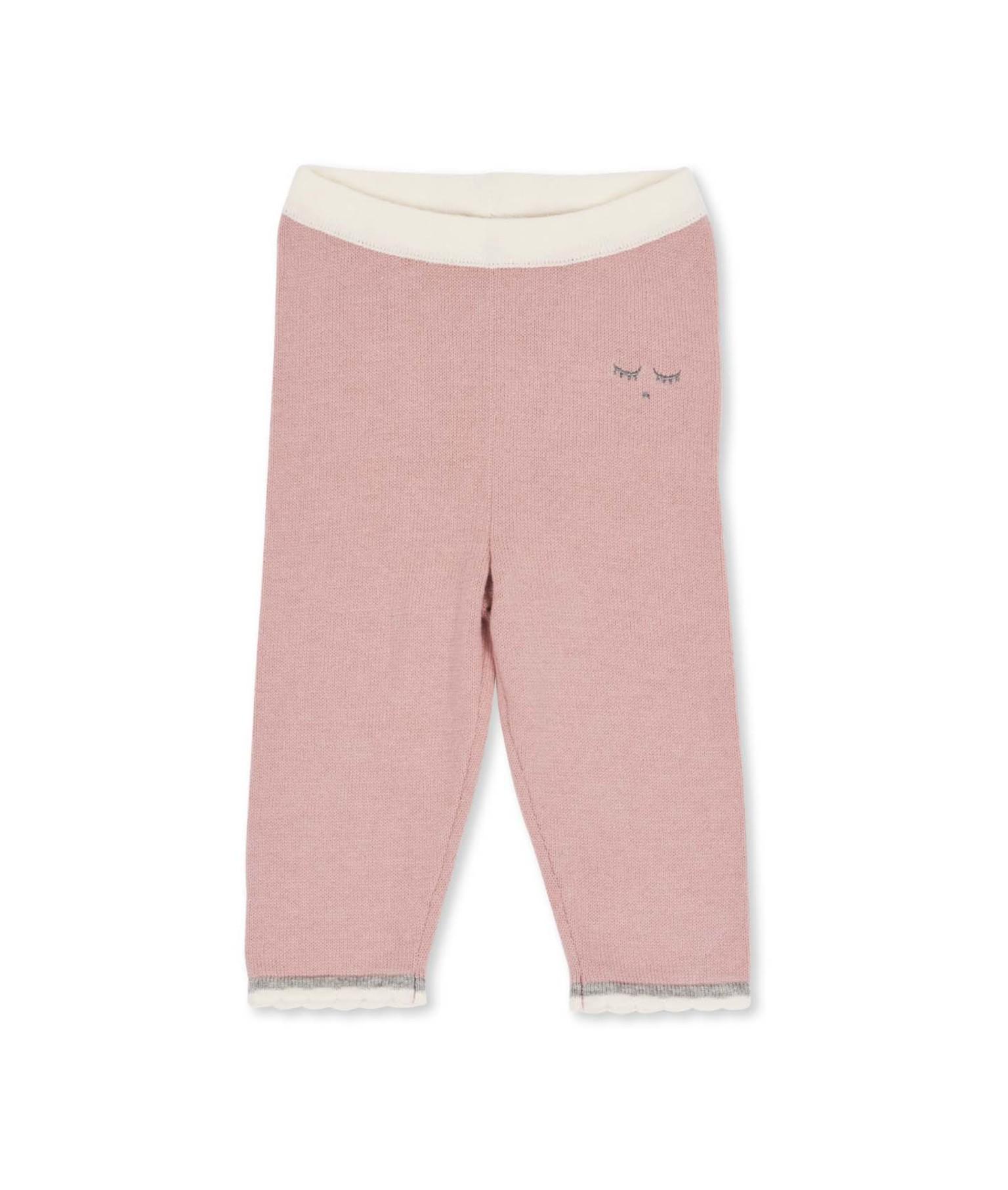 Livly  Scallop Knit  Block Pants