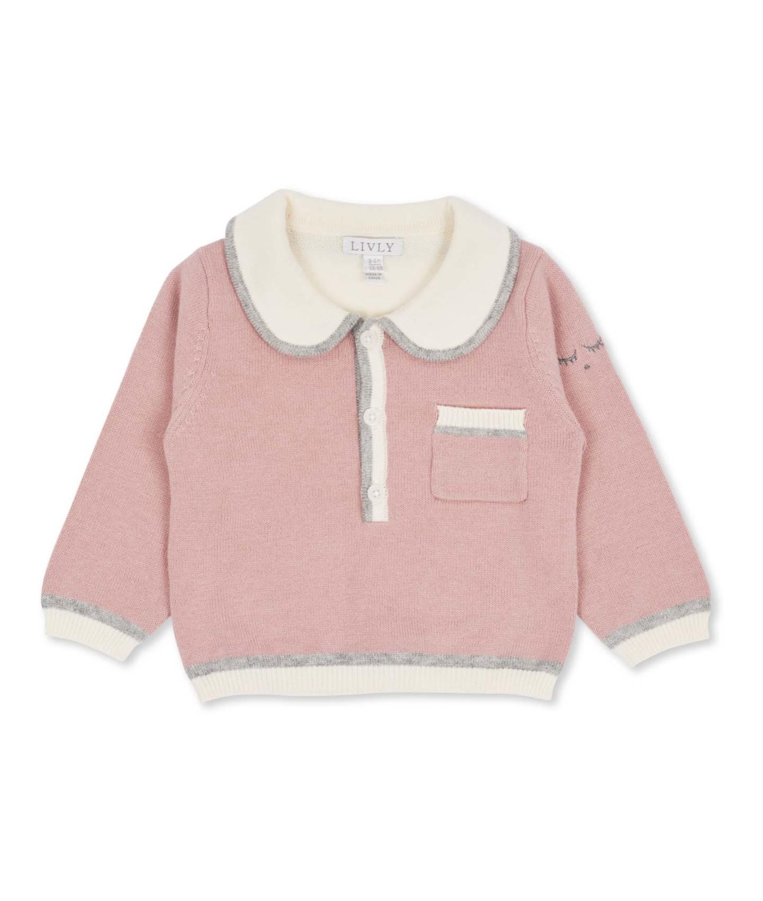 Livly Scallop Collar sweater