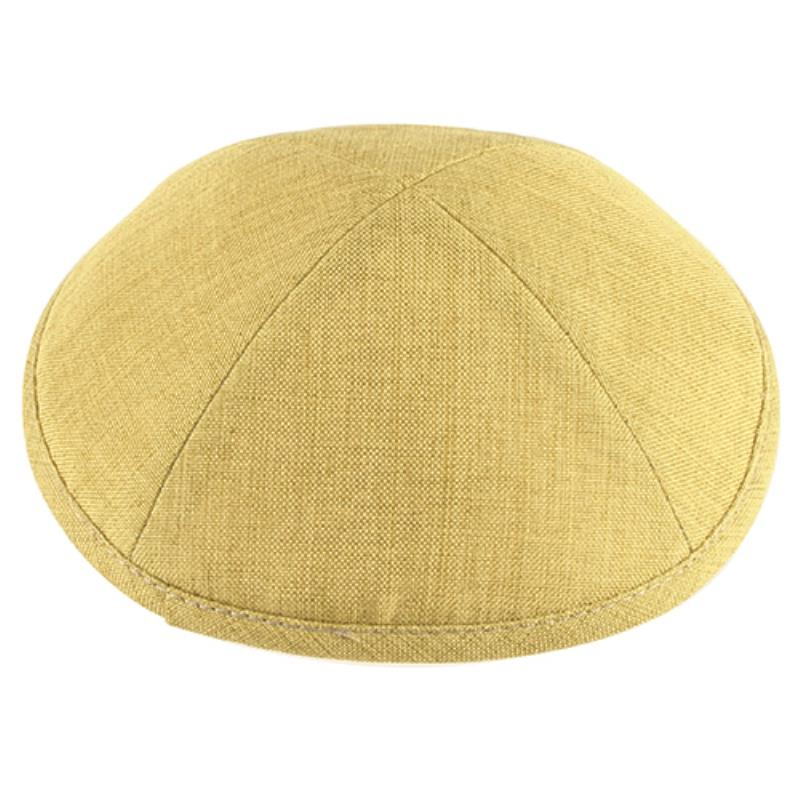 Kippa, Linen, Light Green
