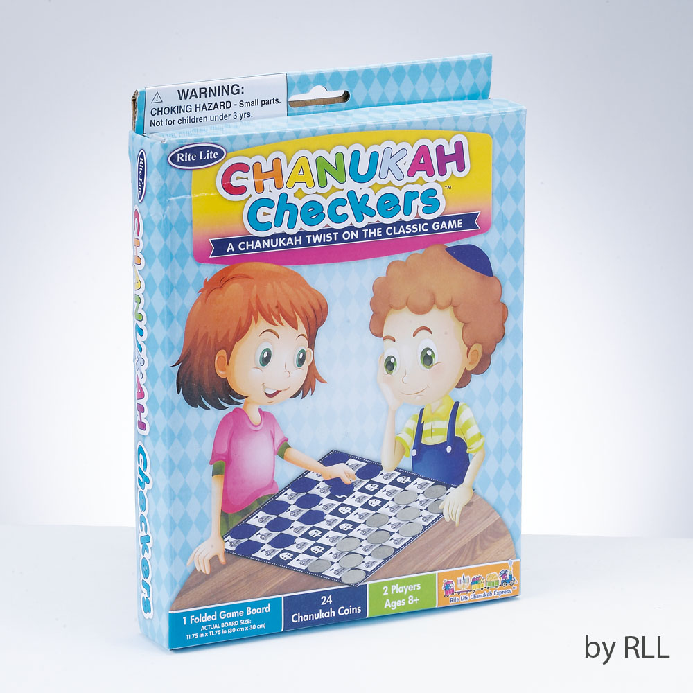 Chanuka Checkers game