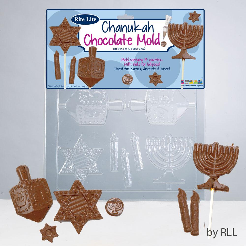 Chanuka Chocolate Mold