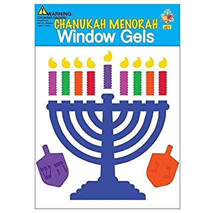 Window Gel Fun - Chanukia