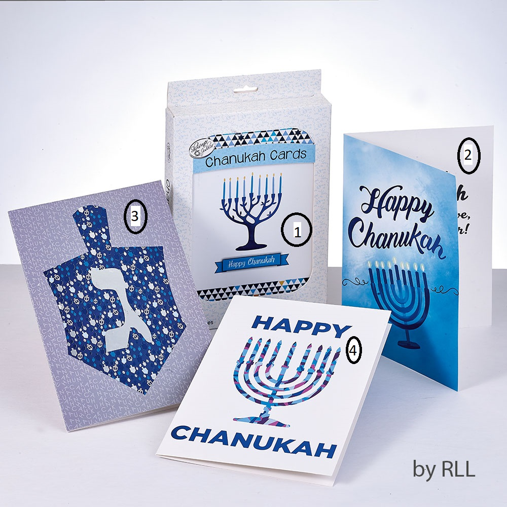 Chanuka kort - greeting cards