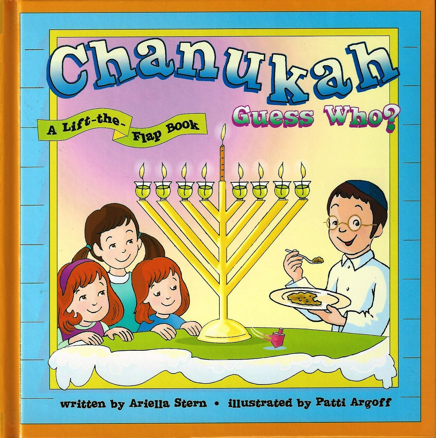 Chanuka guess who? Lift the flap book