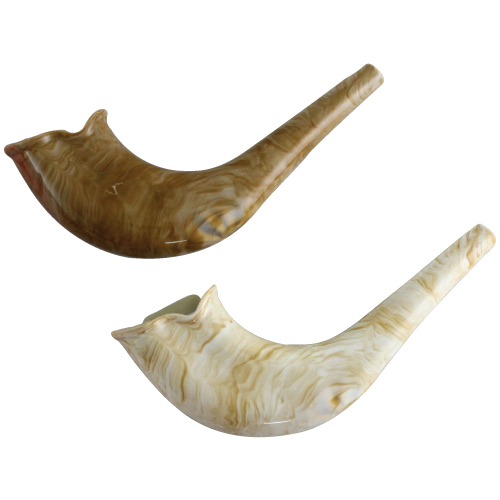 Plastic Shofar - natural color
