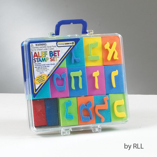 Alef Bet Stamp Set