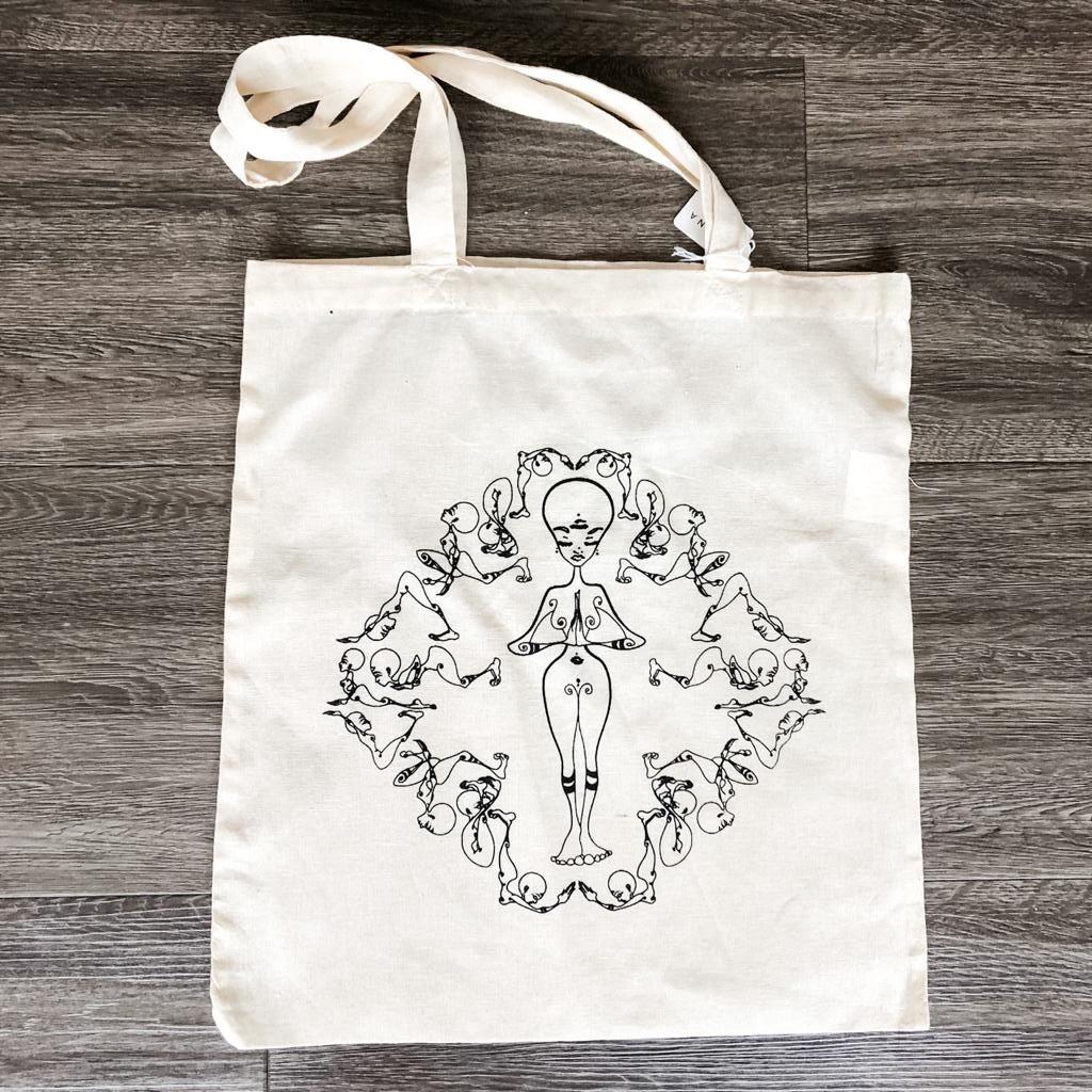 Yoga Tote Bags