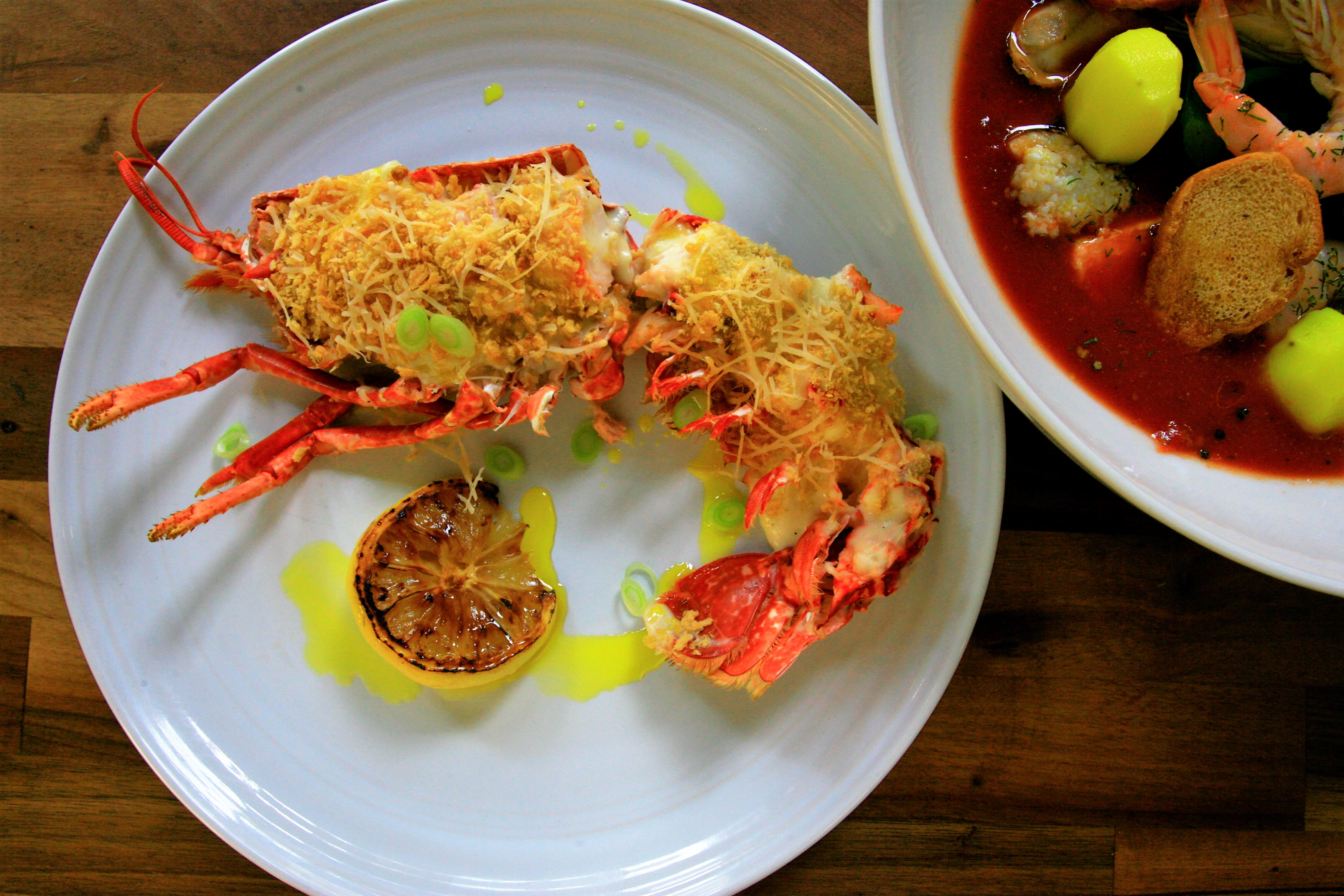 Lobster Thermador (Finish AT HOME) Email for availability