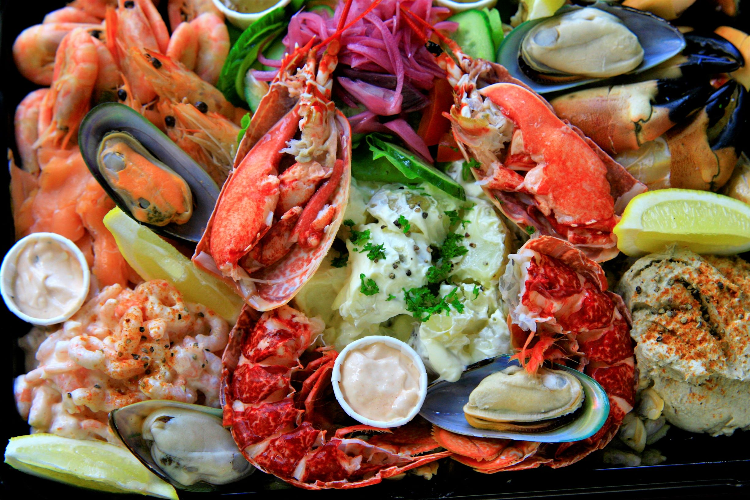 Lobster Platter Serves 4 (Email for availability)