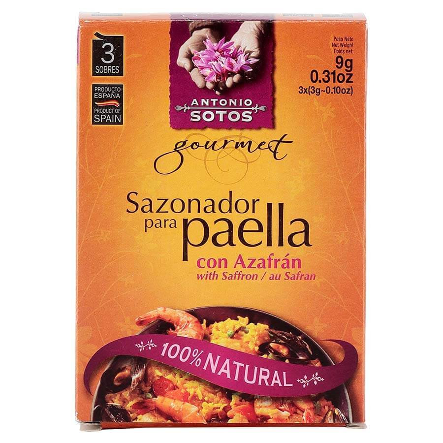 Paella Recipe Pack 4 people (Order by 11 Wednesday for Friday)