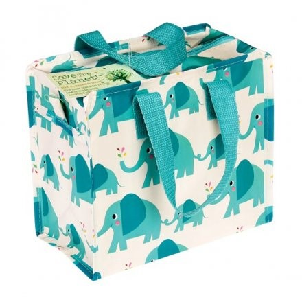 Elvis the Elephant Lunch Bag  Ecofriendly lunch bag made from recycled bottles