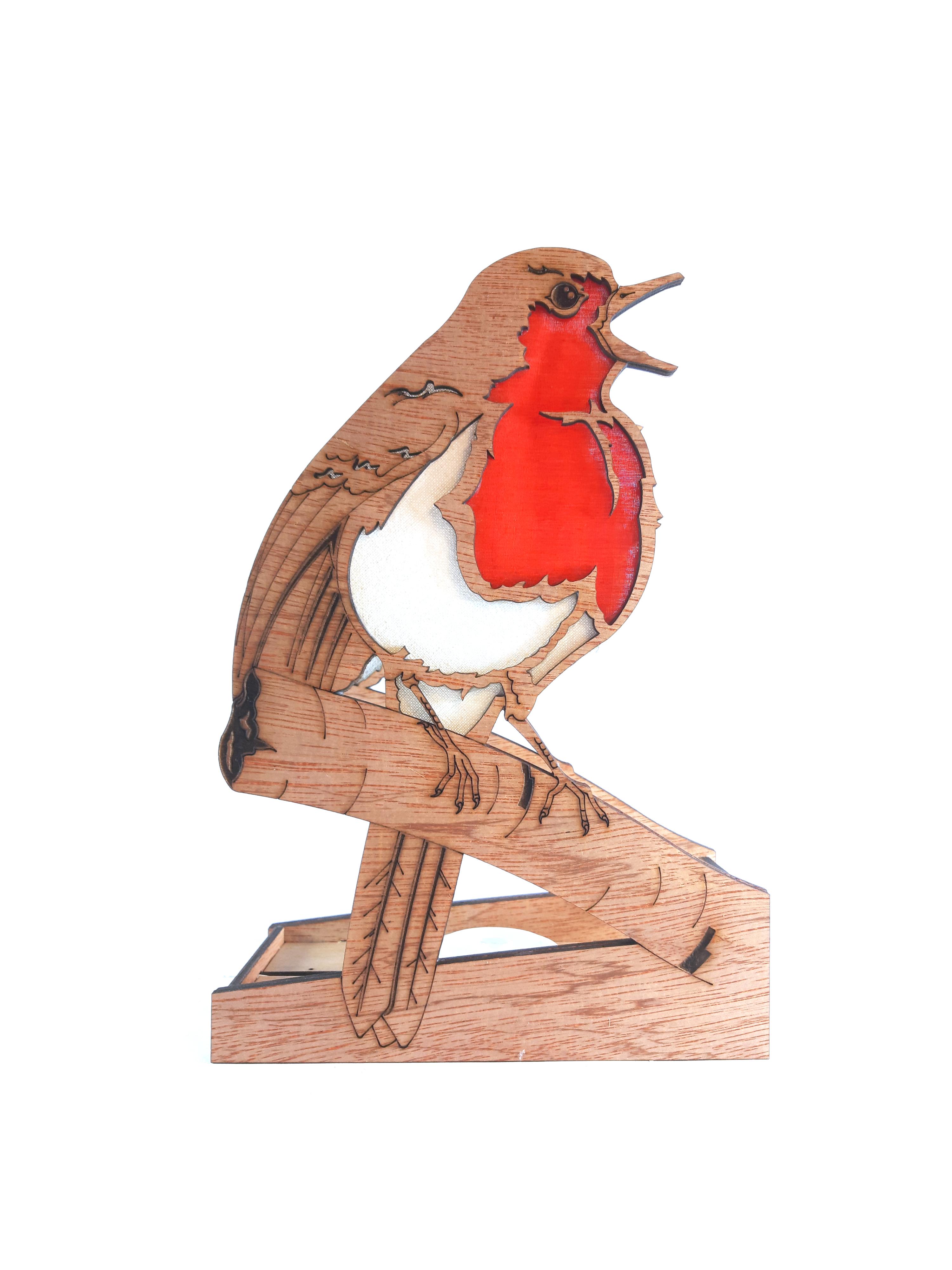 Singing Robin, Lamp