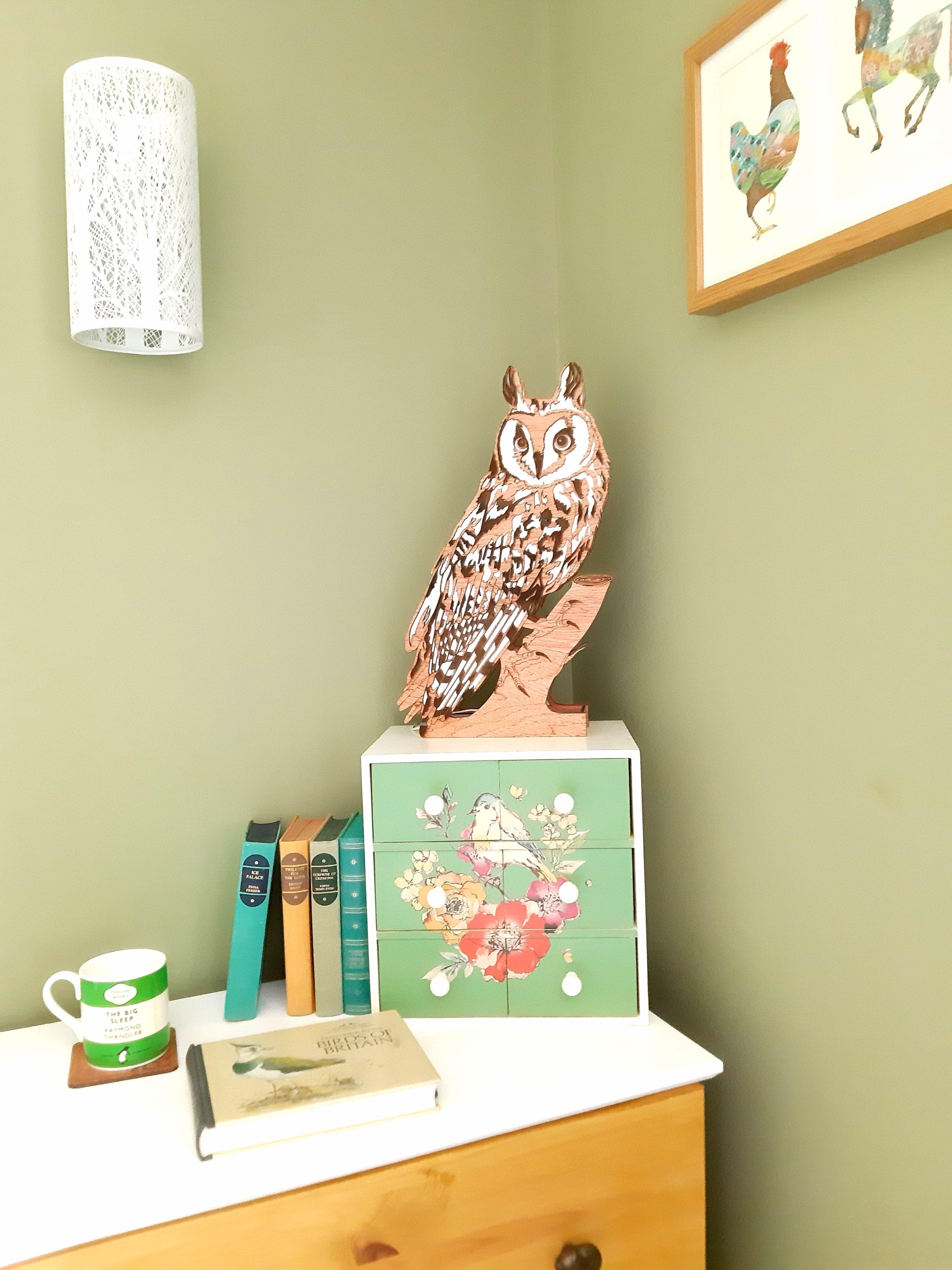 Ambrosius Long Ear Owl, Lamp