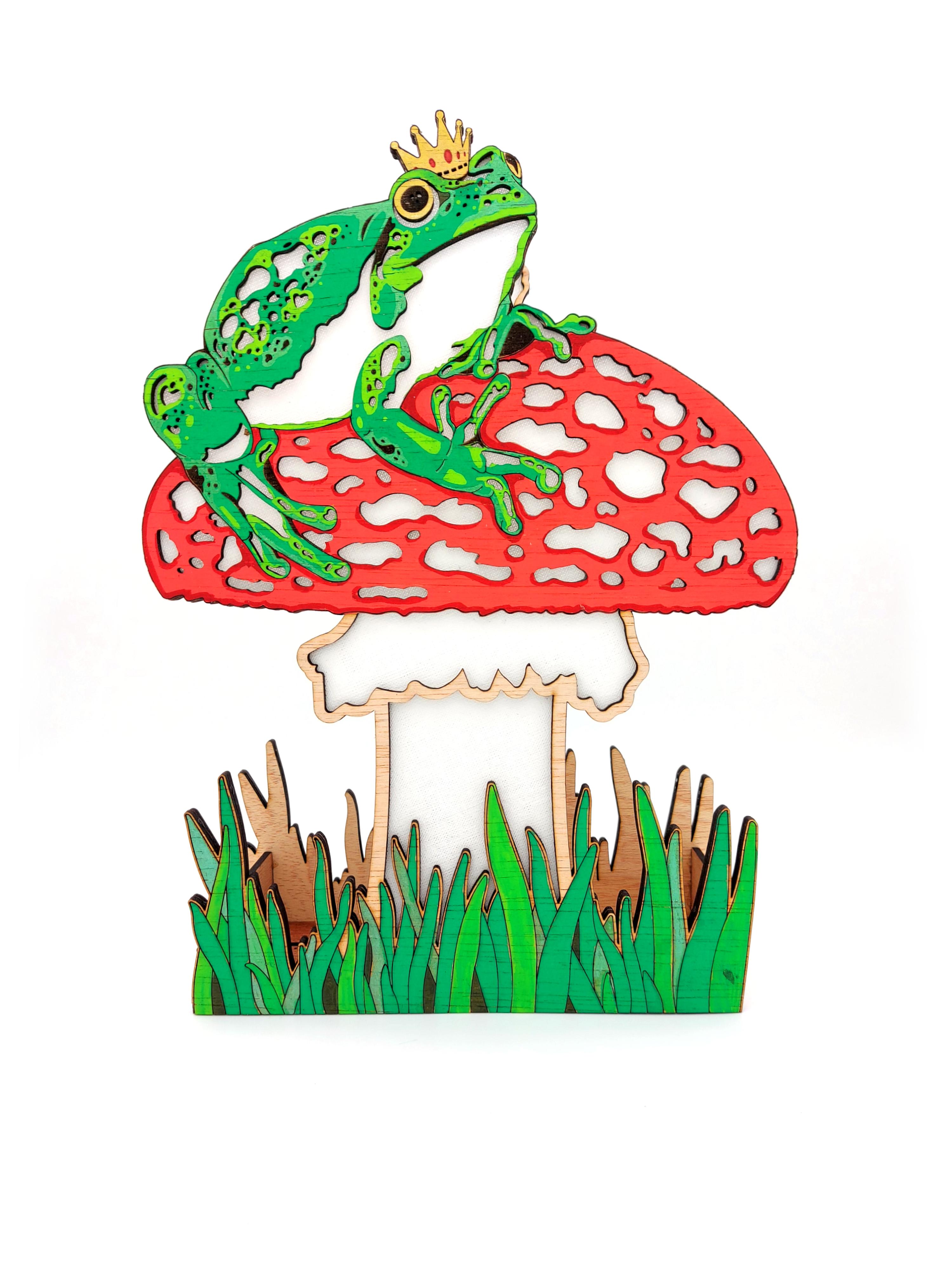 Frog Prince Broga, Lamp
