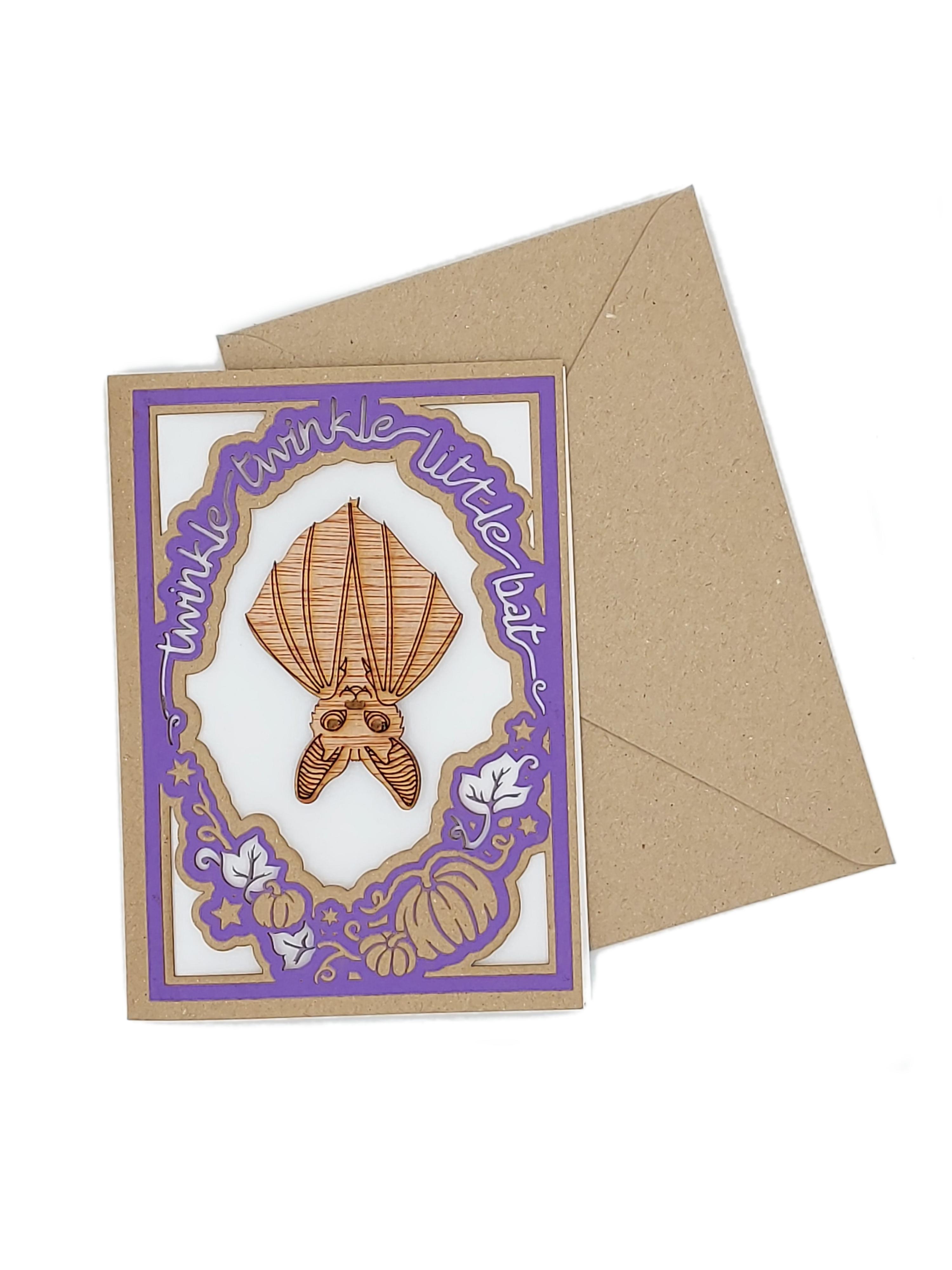 Bat Magnet Card