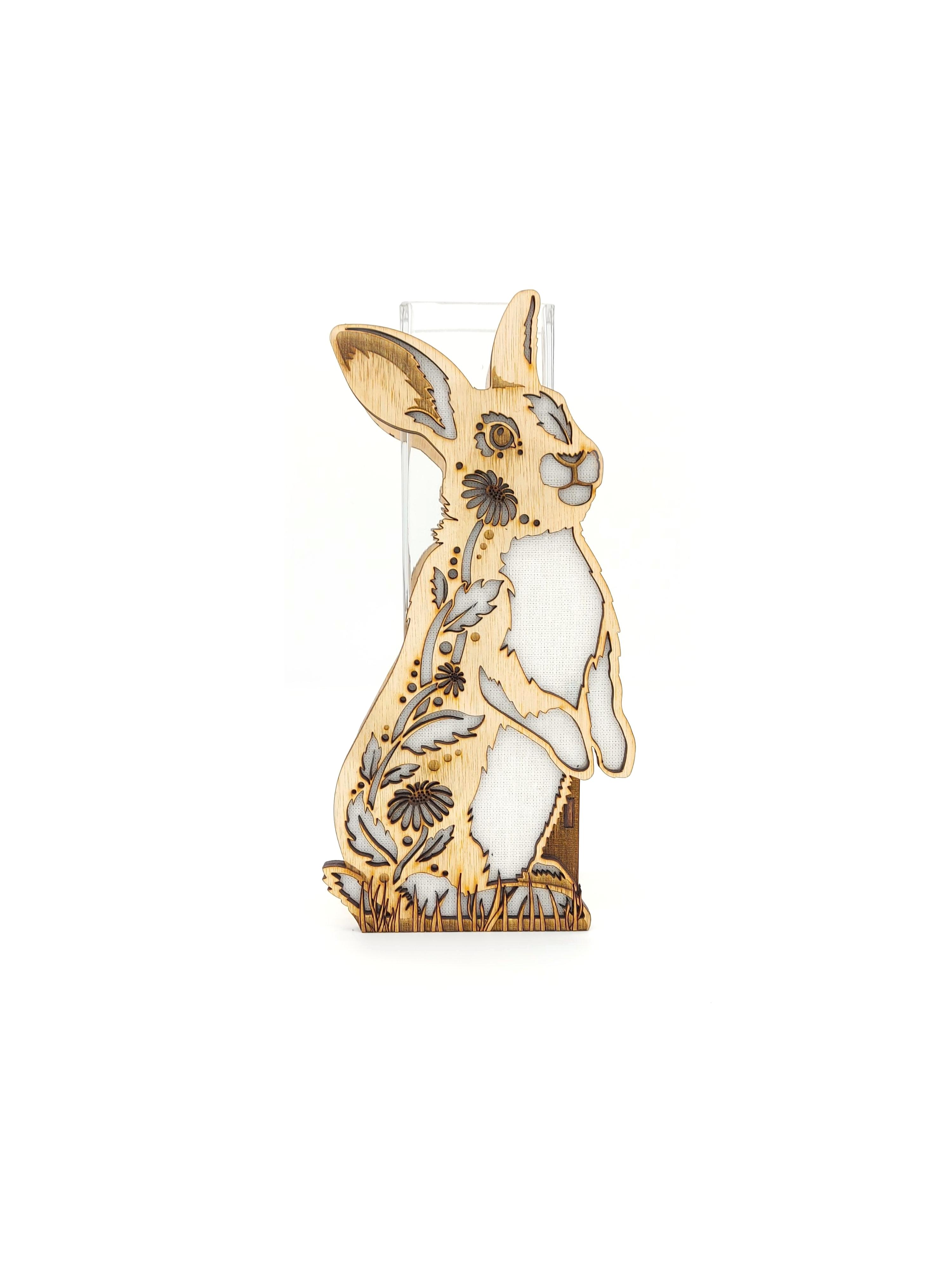 Daisy Bunny Vase