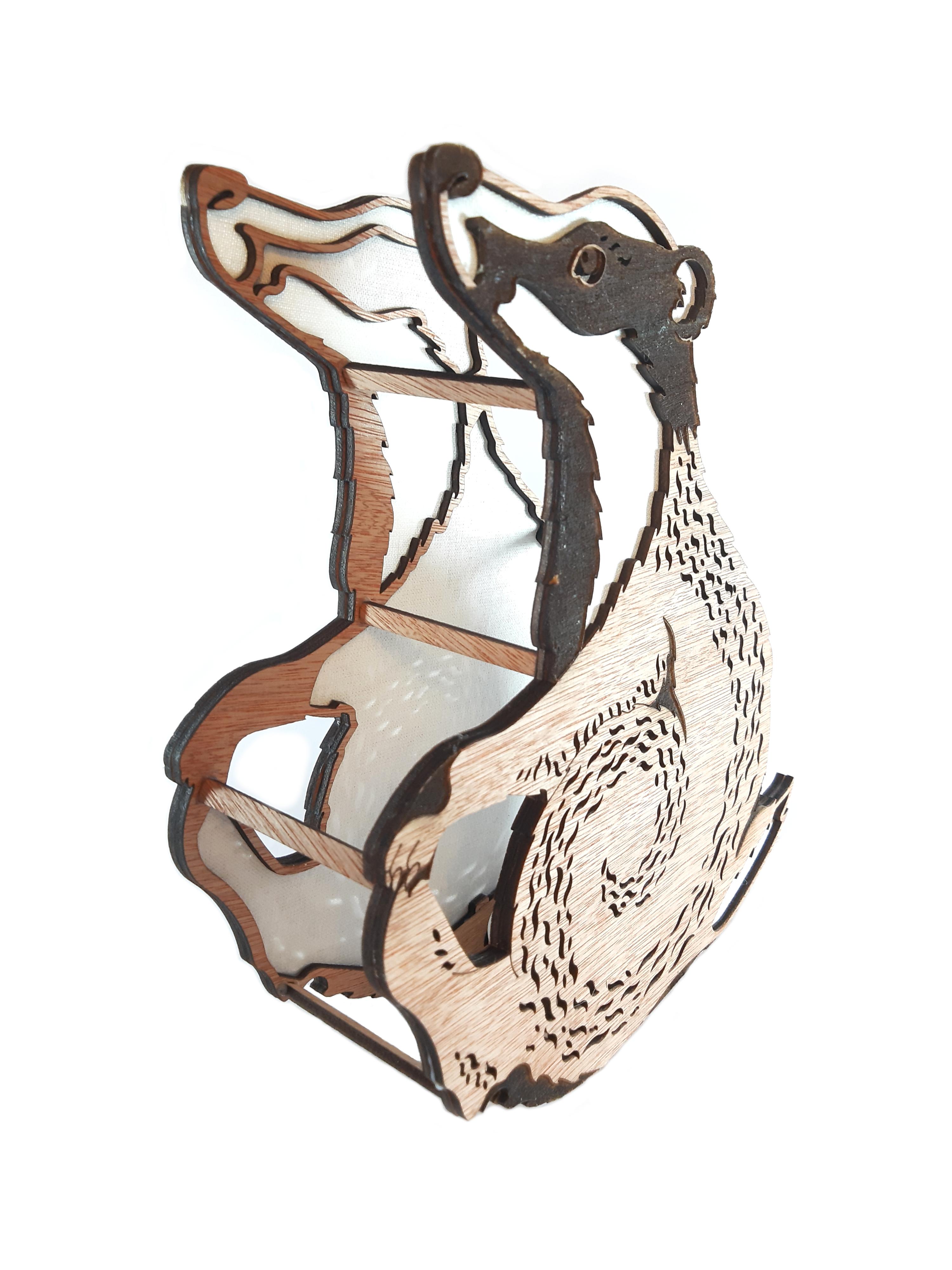 Blenheim Badger, Lamp