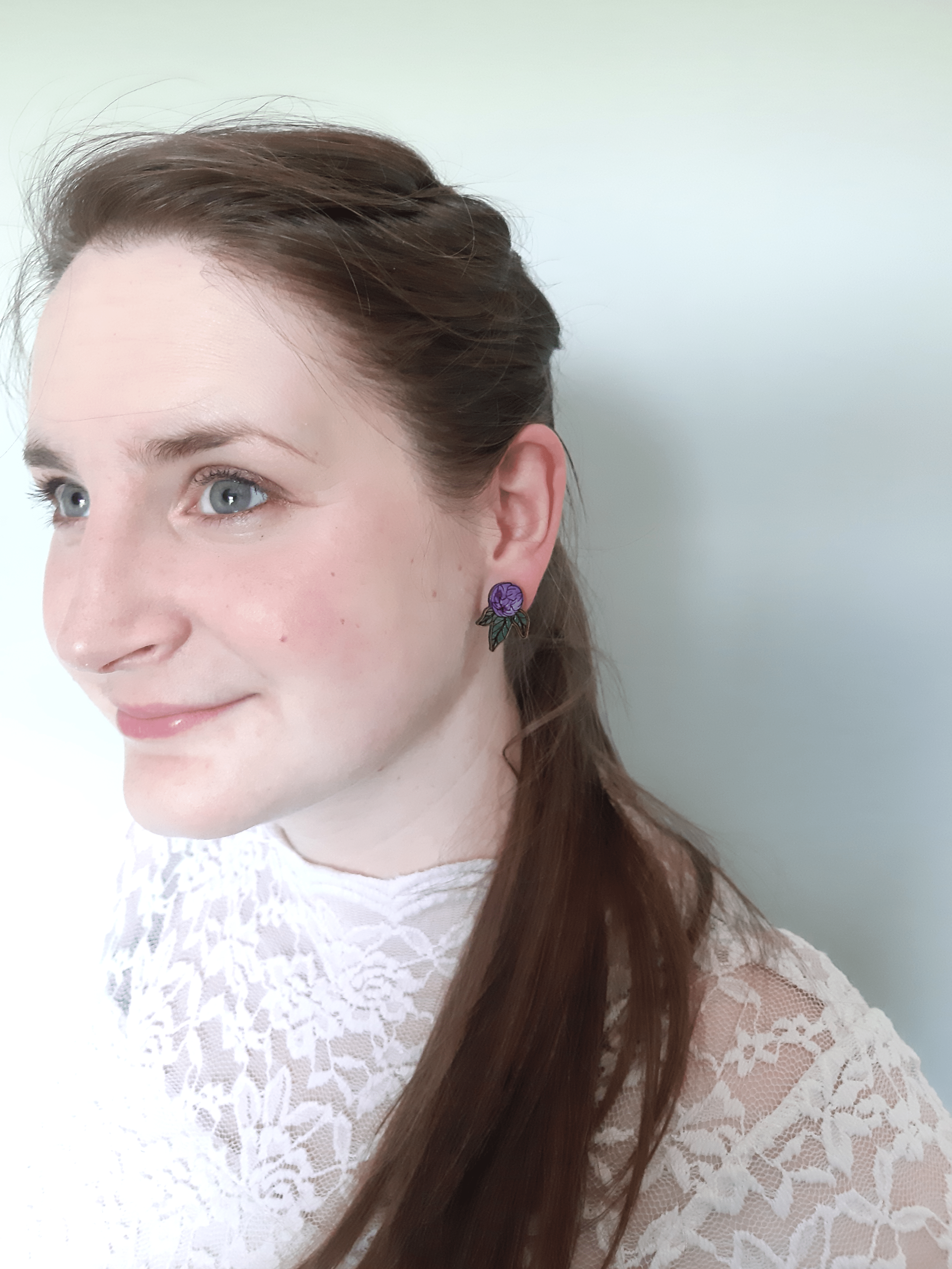 Peony - Stud Earrings