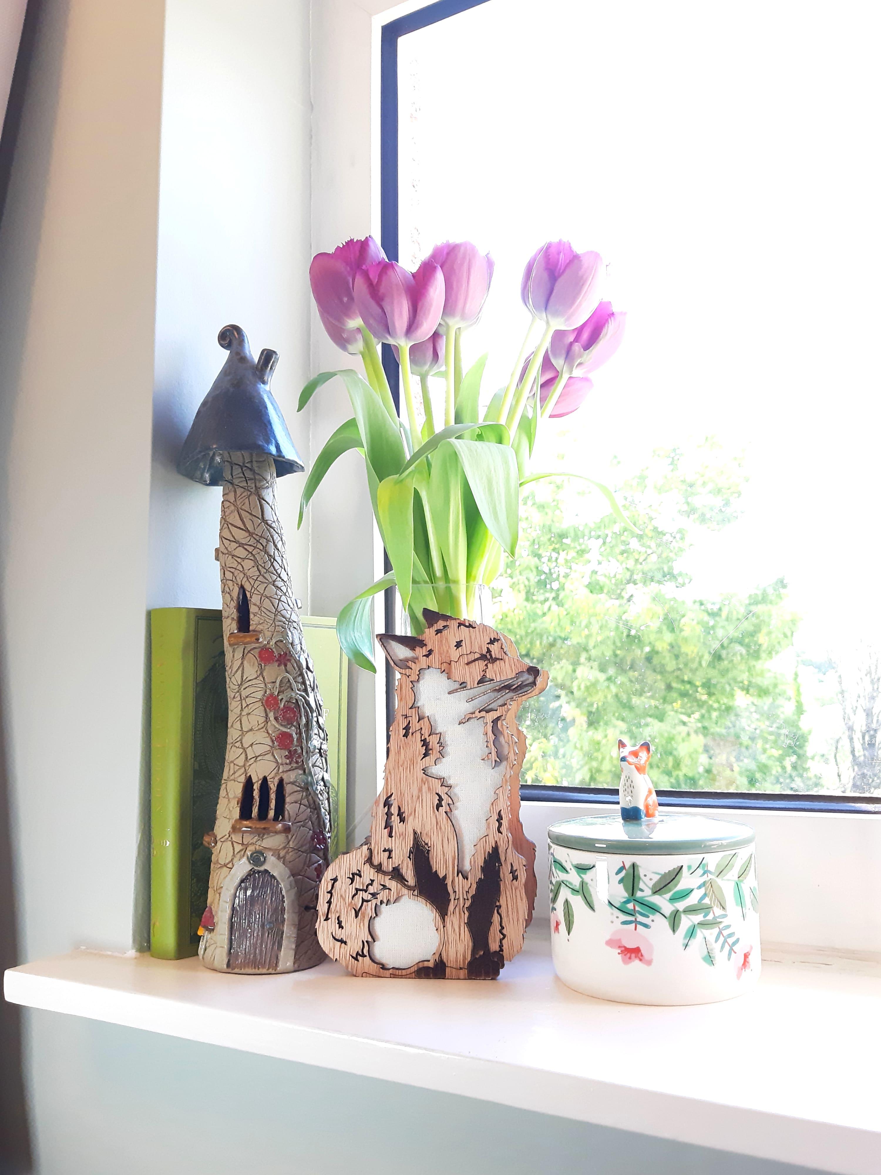Fox Vase